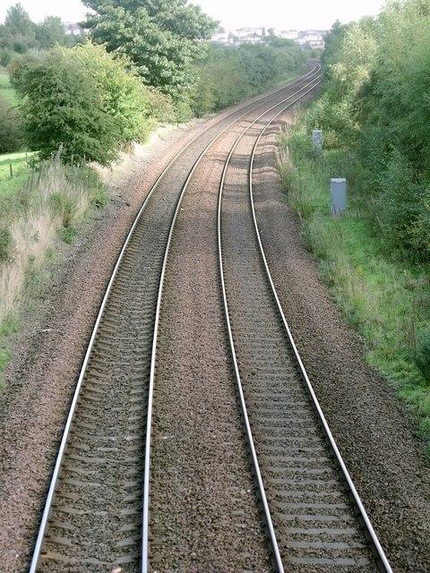 Railway to Coatbridge