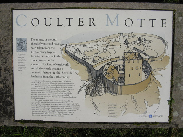 Coulter Motte Hill information point