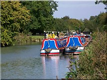 SU2662 : Get your diesel here, Kennet and Avon Canal by Maigheach-gheal