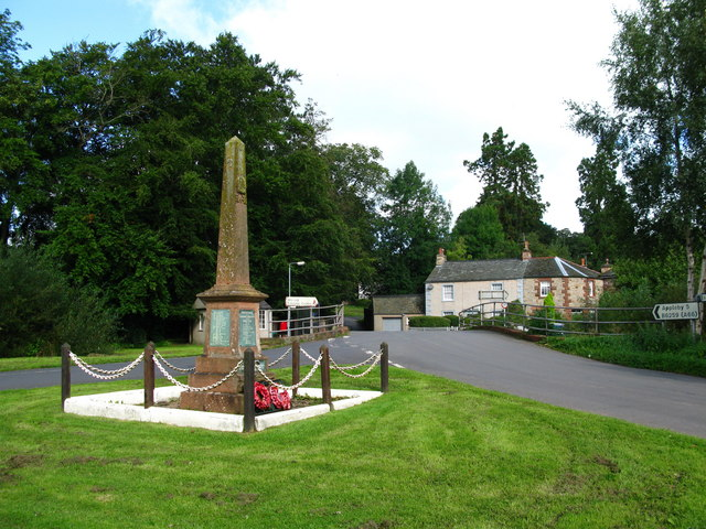 War Memorial, Warcop