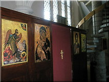SU6400 : Icons within All Saints, Portsea by Basher Eyre