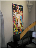 SU6400 : Banner within All Saints, Portsea (2) by Basher Eyre