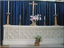 SU6400 : The altar at All Saints, Portsea by Basher Eyre