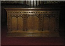 SU6400 : The altar at St Luke's, Portsea by Basher Eyre