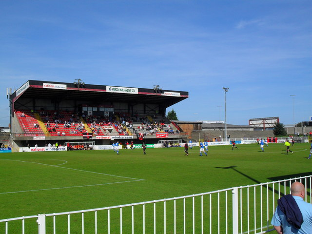 Seaview: Home of Crusaders F.C. © Dean Molyneaux :: Geograph Ireland