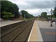 NY6820 : South East from Appleby Station by Chris Heaton