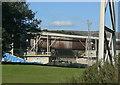 SK1682 : Rotary kiln by Alan Murray-Rust