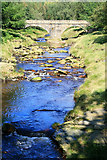 SK1695 : The Bridge at Slippery Stones by David Lally