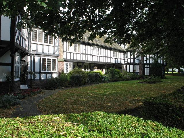 Houses at Port Sunlight.