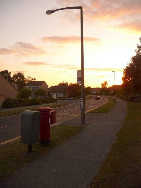 Canford Heath: postbox № BH17 285, Sherborn Crescent