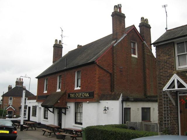 The Old Oak, Meadvale, Reigate Surrey by Richard Rogerson