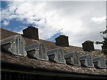 SJ3384 : Houses at Port Sunlight (Dormer Windows) by Gerald Massey