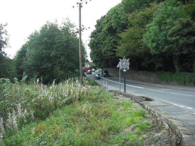 B802 entering Kilsyth