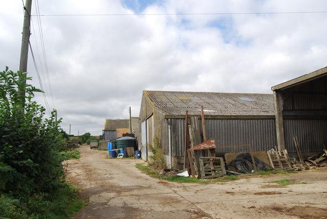 Farm building Little Bayhall Farm by N Chadwick
