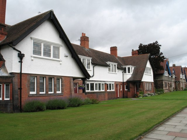 Houses at Port Sunlight (Chalet Roofs)