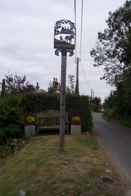 Shottenden Village Sign