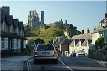 SY9682 : East Street, Corfe Castle, Dorset by Peter Trimming