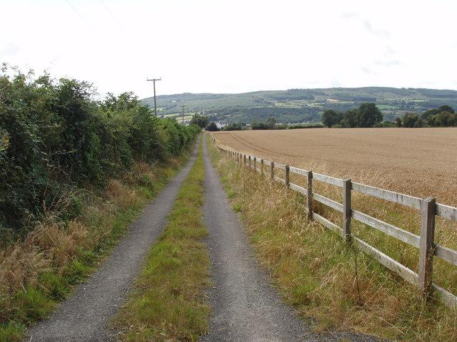 Track near Tennislee Crossroads