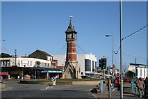 TF5663 : Skegness Clock Tower by Dr Neil Clifton