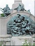 SJ3384 : The War Memorial at Port Sunlight by Gerald Massey