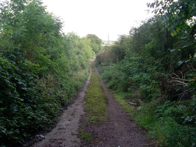 Track towards the A727