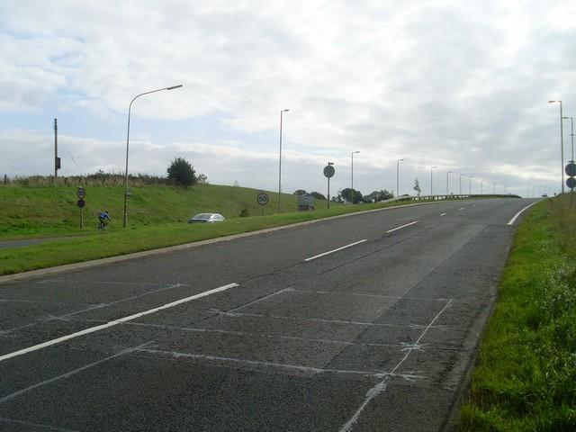 A727 nearing East Kilbride