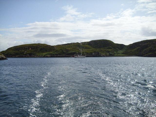 Sheltered anchorage