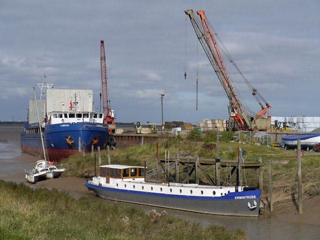 Old Ferry Wharf, Barrow Haven
