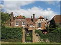 SP9004 : House at Lee, Buckinghamshire (Arts & Crafts Garden Gate) by Gerald Massey