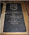 TM3996 : St Andrew, Ravingham, Norfolk - Ledger slab by John Salmon
