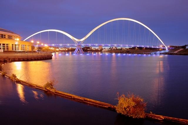 Infinity Footbridge