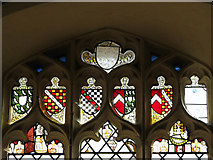 TM3898 : St Gregory's Church - stained glass by Evelyn Simak