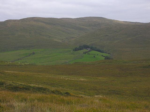 Moorland north of Dinas