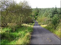G9034 : Road at Meenymore by Kenneth  Allen
