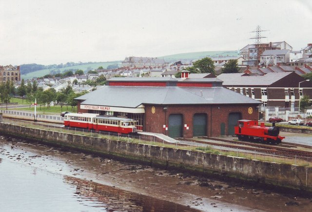 Foyle Valley Railway station and sheds, Derry, Co. Londonderry