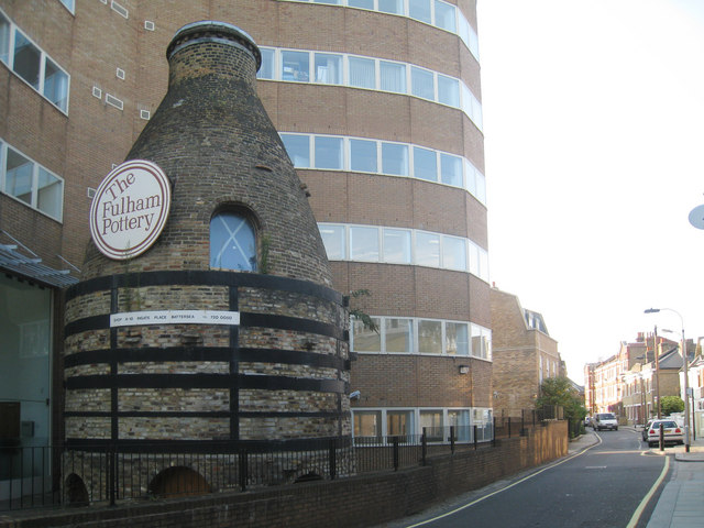 Bottle Kiln at Fulham Pottery, Burlington Road, Fulham