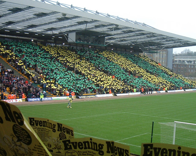 South Stand (Jarrold Stand), Carrow Road, Norwich City Football Club