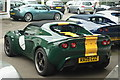 TQ0752 : Lotus Elise at Bell & Colvill, West Horsley, Surrey by Peter Trimming