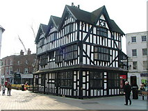 SO5140 : The Old House High Town Hereford by Alan Spencer