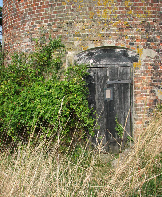 Stokesby Commission Mill - the door into the mill