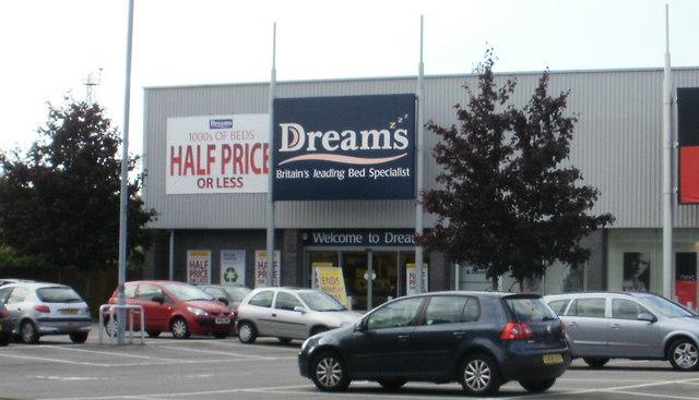 Dreams, Maesglas Retail Park by Jaggery