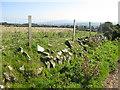 SM9136 : Fenced grazing land near the Strumble VOR by Pauline E