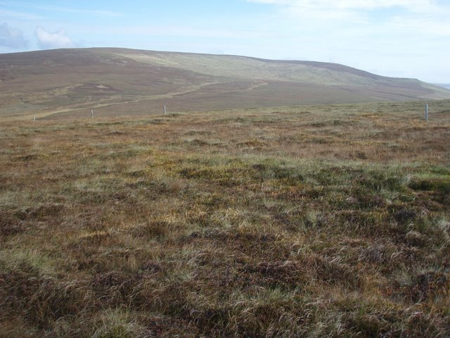 Moorland above the Burn of Ore