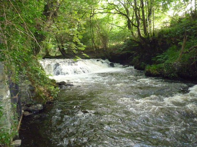 Knappagh Water – the rapids