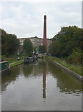 SJ9378 : The approach to Clarence Mill by Alan Murray-Rust