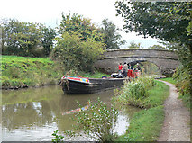 SJ9279 : Spey' at bridge 23 by Alan Murray-Rust