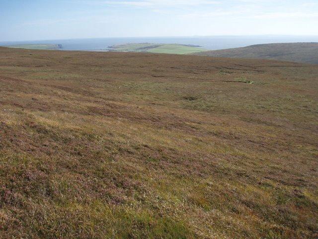 Hillside below Cairn Hill