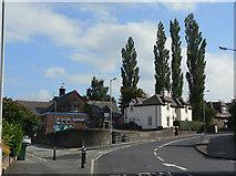 SJ9688 : Church Lane, Marple by Alan Murray-Rust