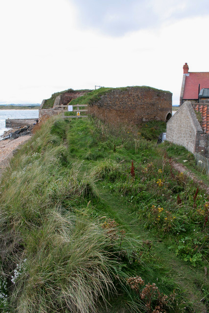 Former tramway, Beadnell lime kiln