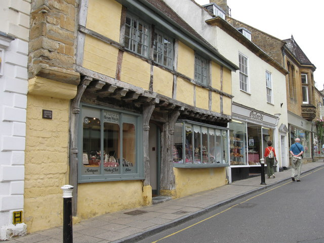 Cheap Street,  Sherborne.  Looking North